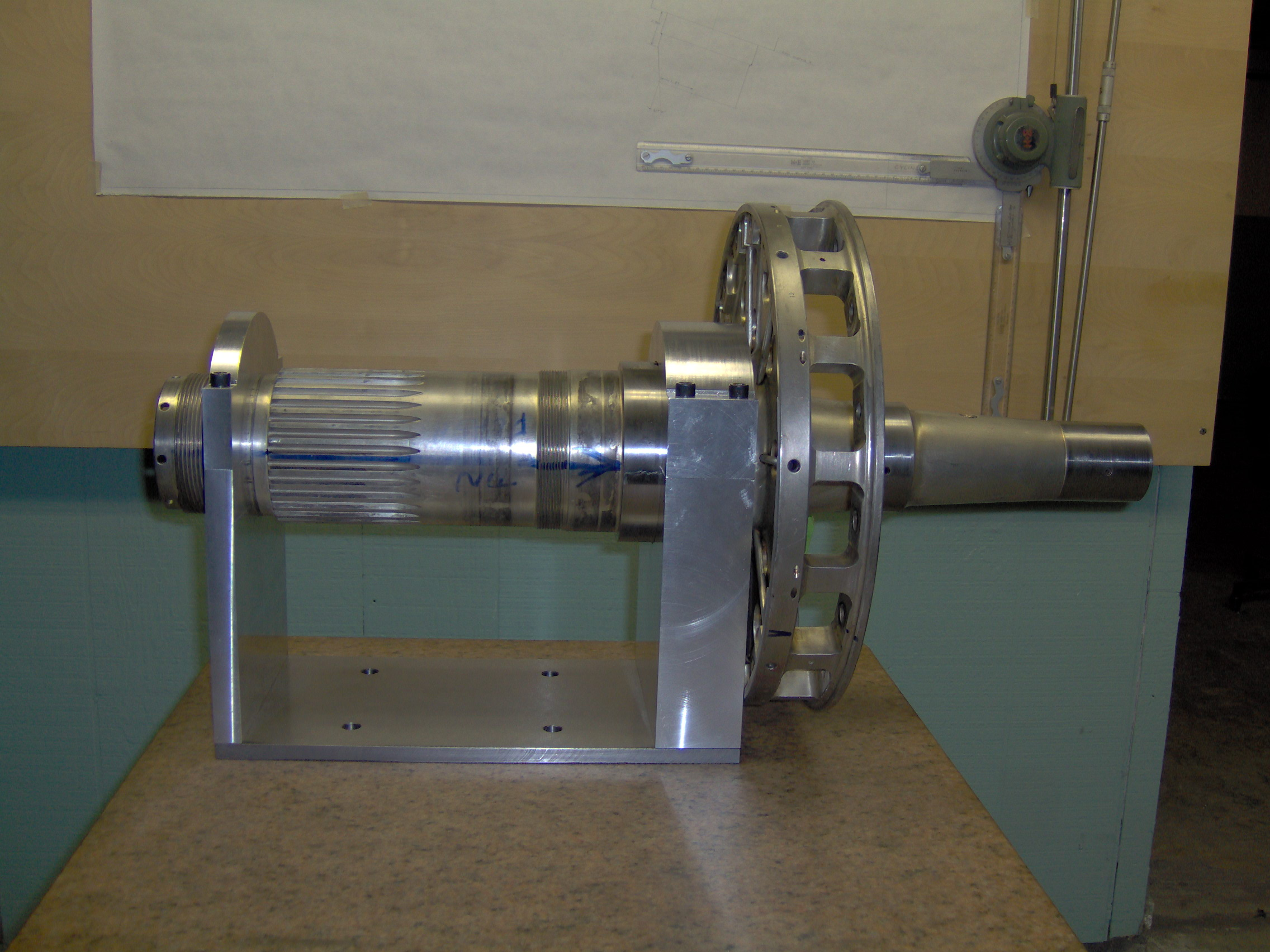 Fixture for R2800 Propeller Shaft rework